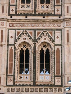 Italy, Florence. Detail of the Santa Maria del Fiore, Duomo Cathedral. by Julie Eggers