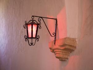 Lantern Inside a Church, Valladolid, Yucatan, Mexico by Julie Eggers