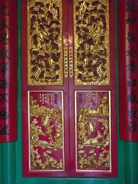 Man Mo Buddhist Temple, Hong Kong, China by Julie Eggers