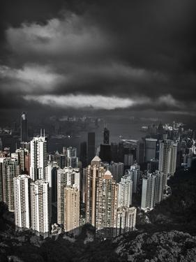 View from the Peak, Hong Kong, China by Julie Eggers