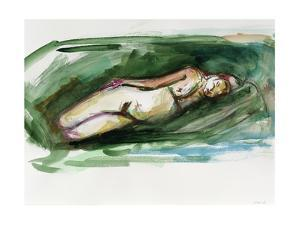 Reclining Nude, 2015 by Julie Held