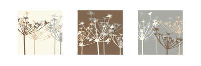 Meadow Triptych II by Julie Lavender