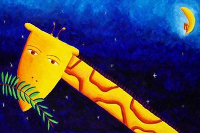 Giraffe at Night, 2002