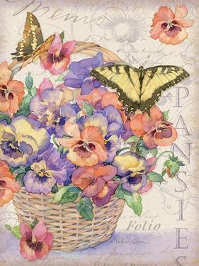 Pansies Folio by Julie Paton