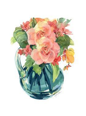 Rose Bouquet II by Julie Paton