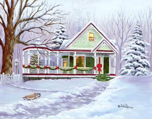 Christmas Sled by Julie Peterson