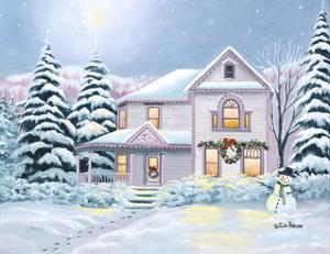 Christmas Snowman by Julie Peterson