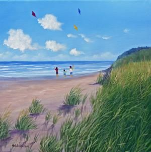 Flying Kites by Julie Peterson