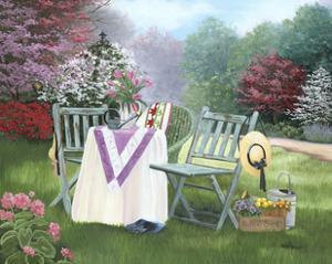 Gardeners Oasis by Julie Peterson