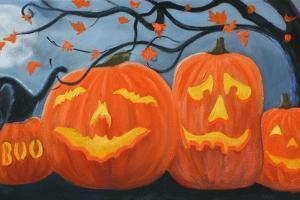 Halloween Pumpkins by Julie Peterson