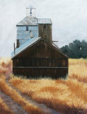 Hwy 12 Grainery by Julie Peterson