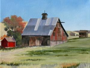 Old Barn by Julie Peterson