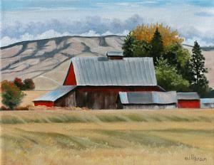 Red Barn by Julie Peterson