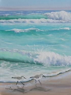 Shore Birds by Julie Peterson