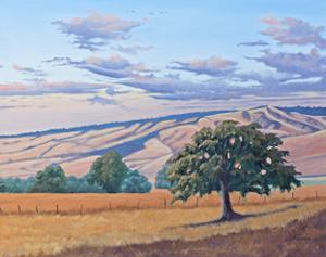 Summer Sunset on the Blue Mountains by Julie Peterson