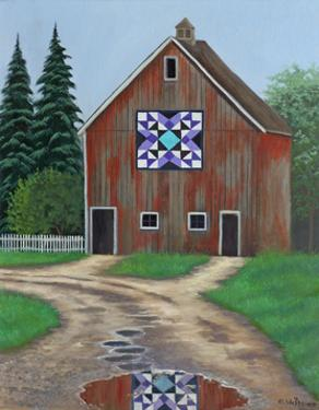Swallows in the Barn by Julie Peterson