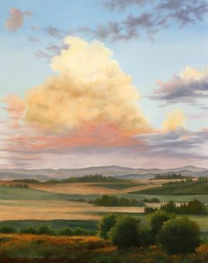 Thunderhead in Valley by Julie Peterson