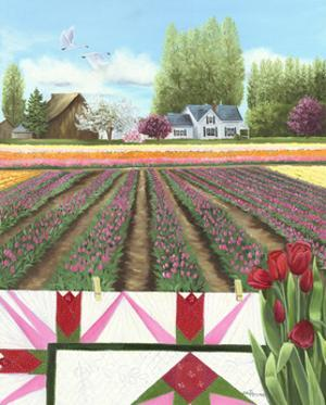 Tulip Quilt by Julie Peterson