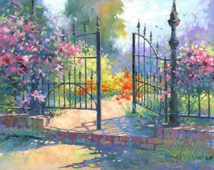 Into the Garden by Julie Pollard