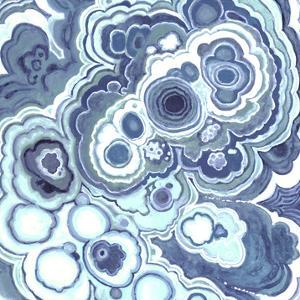 Blue Malachite I by Julie Silver