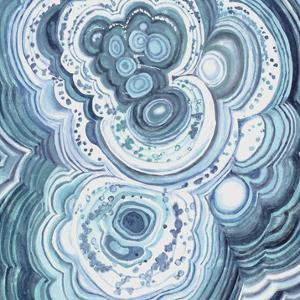Blue Malachite II by Julie Silver