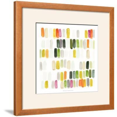 Colorful Swatches I by Julie Silver