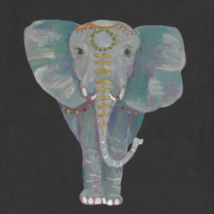 Noble Elephant I by Julie Silver