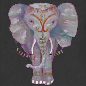 Noble Elephant II by Julie Silver
