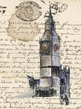 Postcards from Big Ben by Julie Silver
