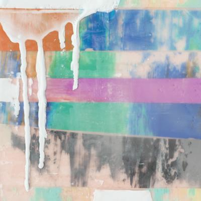 Vibrant Paint Drip I by Julie Silver