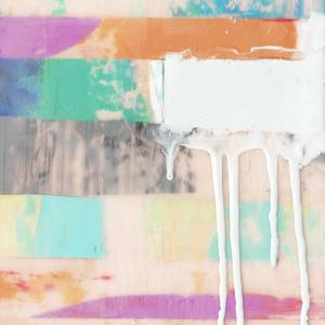 Vibrant Paint Drip II by Julie Silver