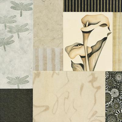 Collage with Calla Lillies #3 by Julieann Johnson