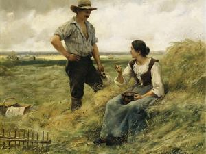 A Break from the Harvest by Julien Dupre