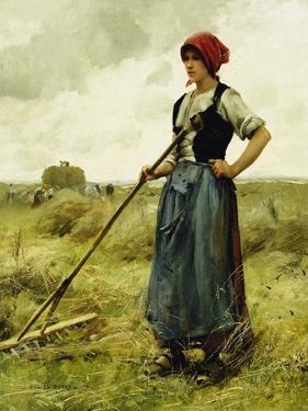 Harvest Time, 1890 by Julien Dupré