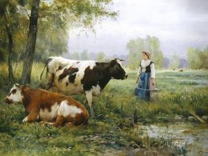 The Milkmaid by Julien Dupre