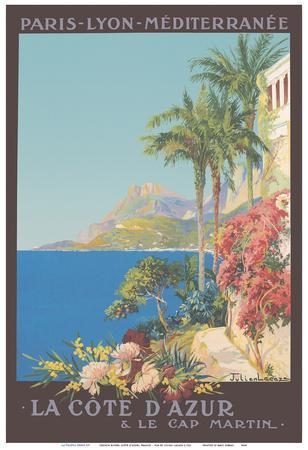 French Rivera (Côte d'Azur), France  - Paris-Lyon-Mediterranean (PLM)