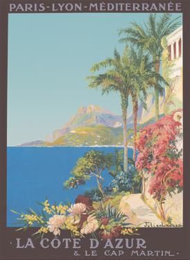 French Rivera (Côte d'Azur), France  - Paris-Lyon-Mediterranean (PLM) by Julien Lacaze