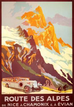 Route Des Alpes by Julien Lacaze