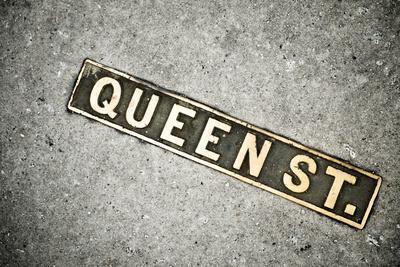 Queen St. Sign, Charleston, South Carolina. USA