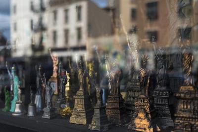 Statue of Liberty souvenir, Brooklyn, New York, Usa. Williamsburg by Julien McRoberts