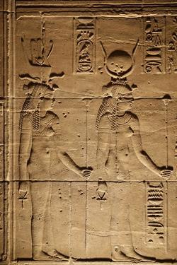 Temple of Isis. Island of Philae, Egypt. by Julien McRoberts