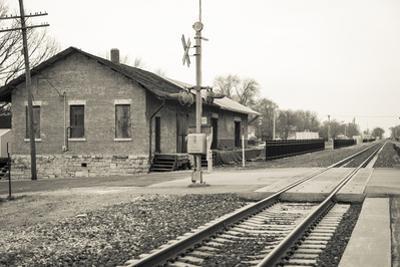 Train Station, Lincoln, Illinois, USA. Route 66