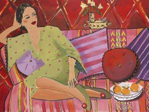 Kimono in Green by Juliette McGill
