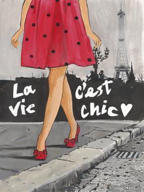 Polka Dot Paris II by Juliette McGill