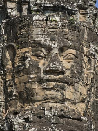 Detail of Carving, Angkor Wat Archaeological Park, Siem Reap, Cambodia, Indochina, Southeast Asia
