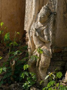 Old Abandoned Buddhist Temples in the Inle Lake Region, Shan State, Myanmar by Julio Etchart