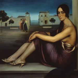 Conchita Torres, 1919-1920 by Julio Romero de Torres