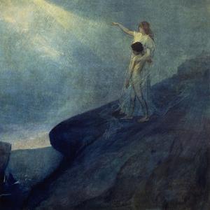 El Genio Y La Inspiracion, 1905 by Julio Romero de Torres