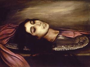 Head of a Saint Woman, 1925 by Julio Romero de Torres