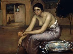 Jealousy, Ca. 1920 by Julio Romero de Torres